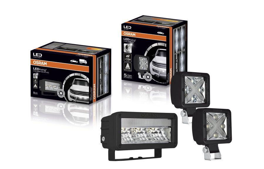 LED papildus gaisma Cube MX85-WD