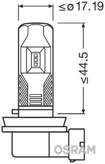 LEDriving FOG LAMPS GEN-2 LEDriving® FL H8,H11, H16 (2 gab)