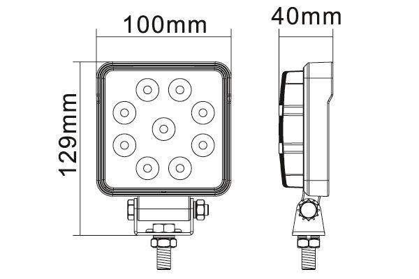 Lukturi darba Hella ValueFit LED S1500
