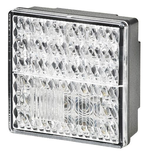 Lukturis aizmugures Hella ValueFit 80x80mm