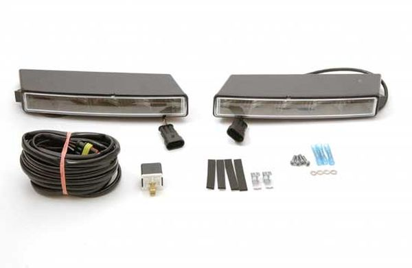 Daytime running light set with position light, 12 V incl. professional harness